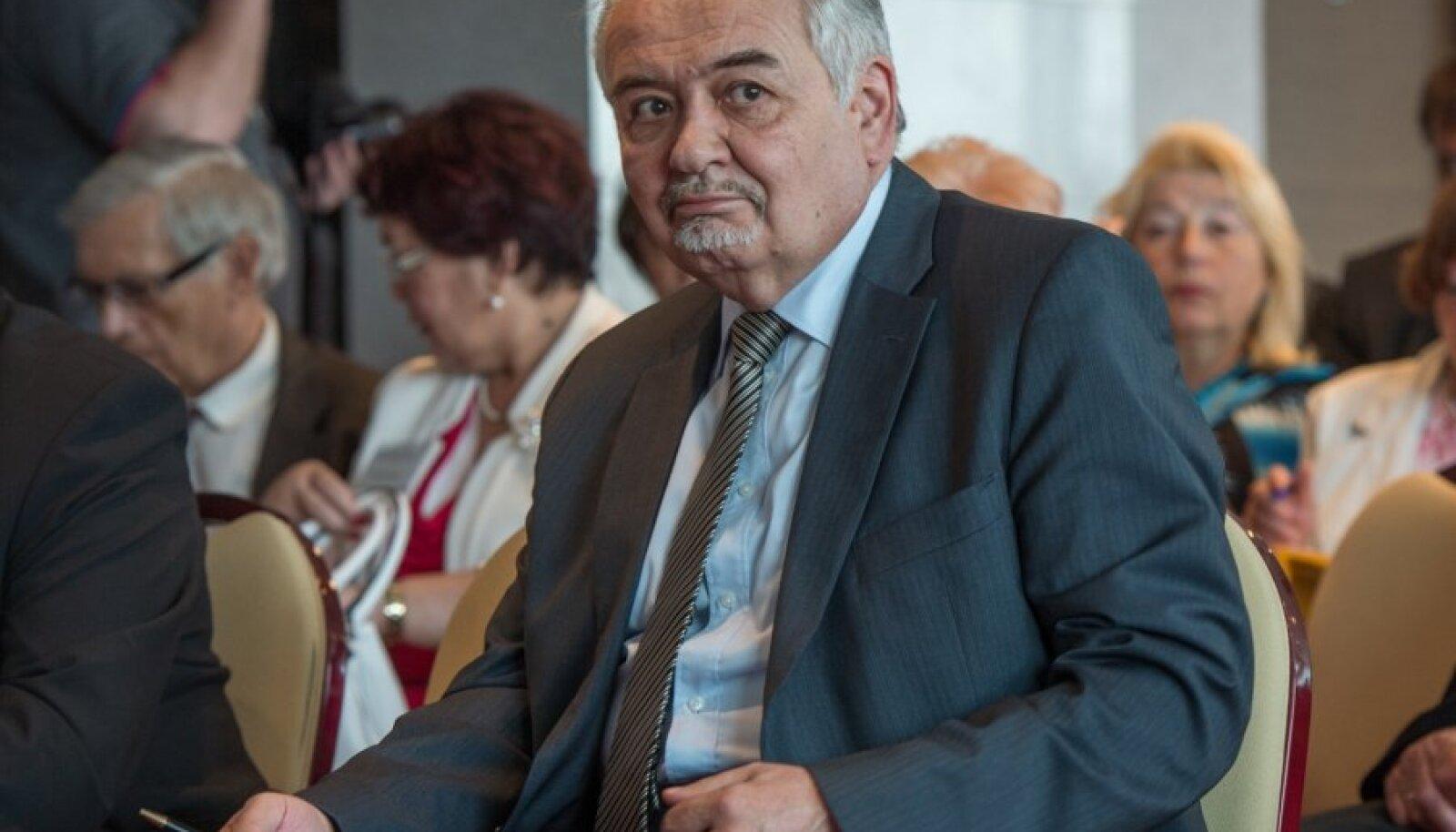 Merzljakov Vene kaasmaalaste nõukogu vabariiklikul konverentsil