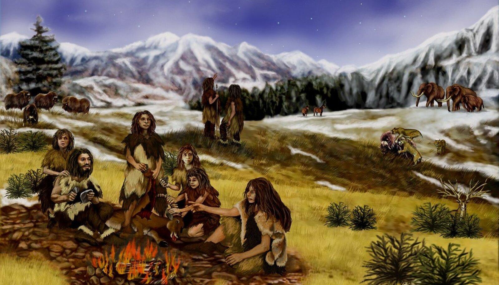 Neandertallased (Foto: Pixabay / David Mark)