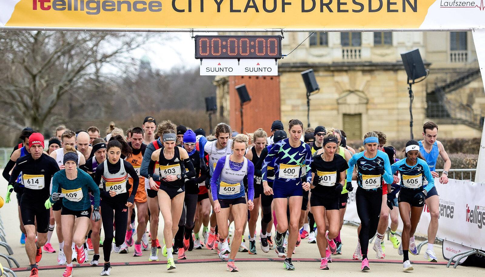 Dresdeni maraton 21. märtsil. (Foto on illustratiivne)