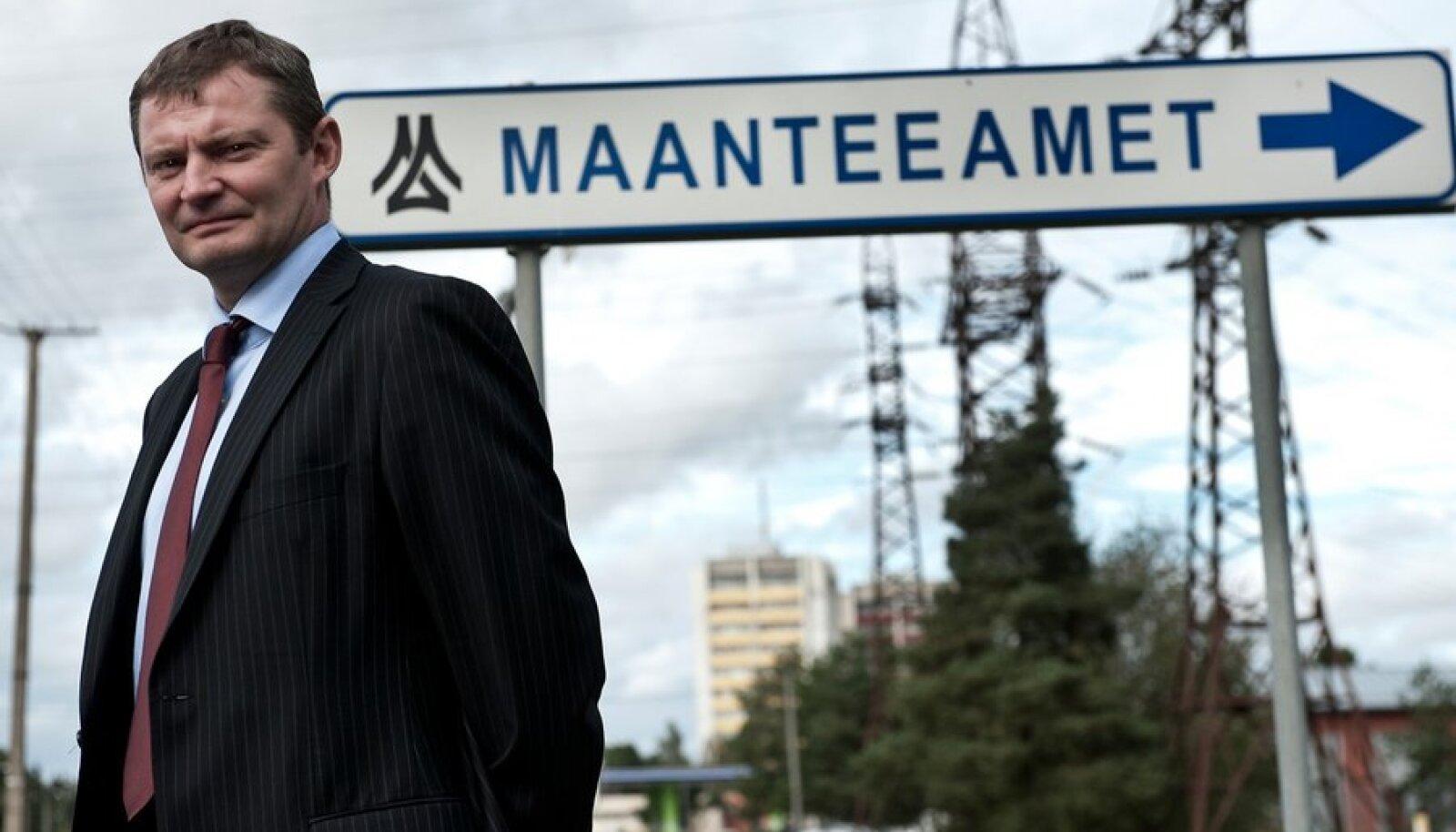 Maanteameti juht Aivo Adamson