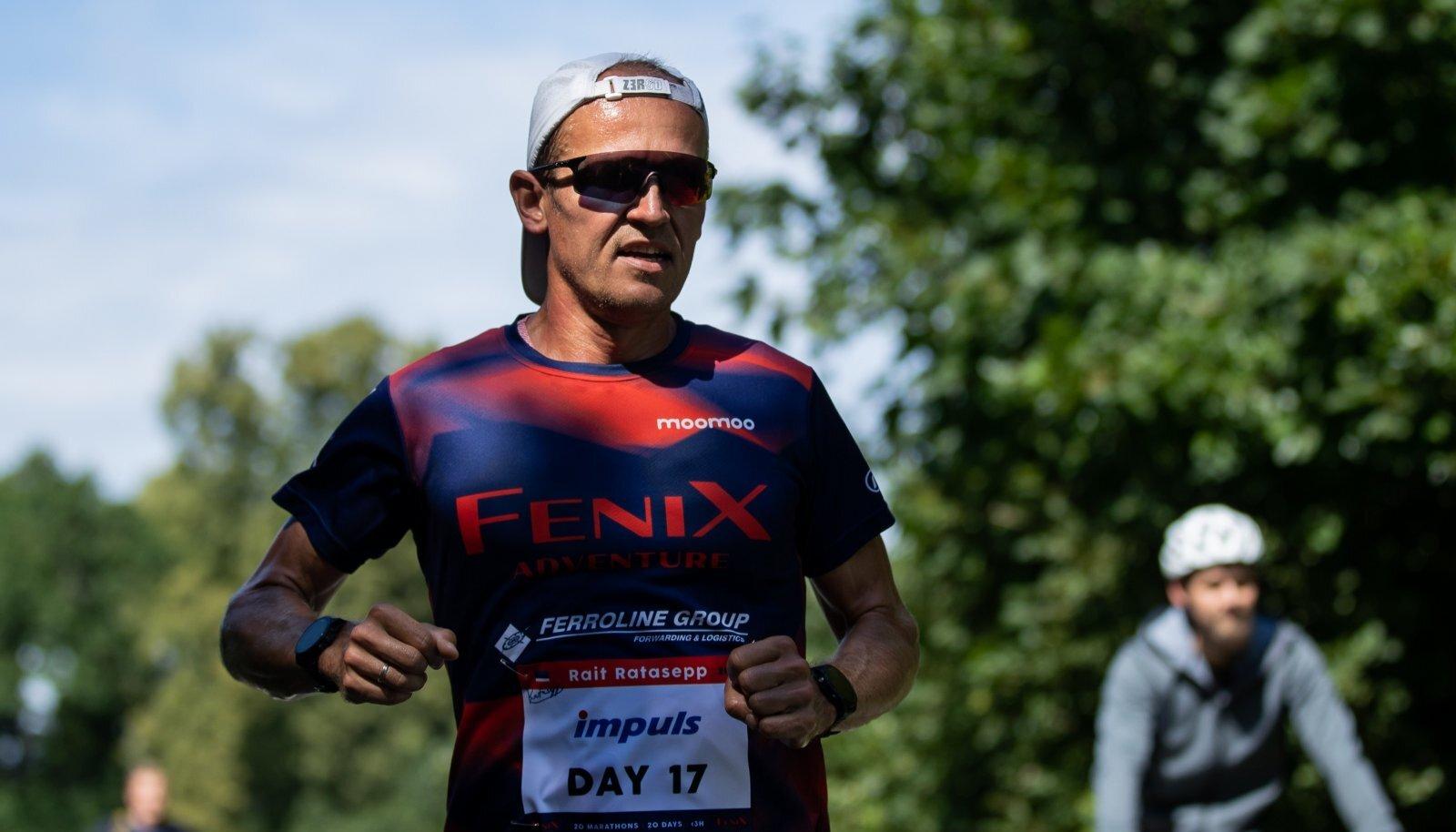 Tallinn, 29.07.2020. Rait Ratasepp jooksis Rocca al Mares maratoni.