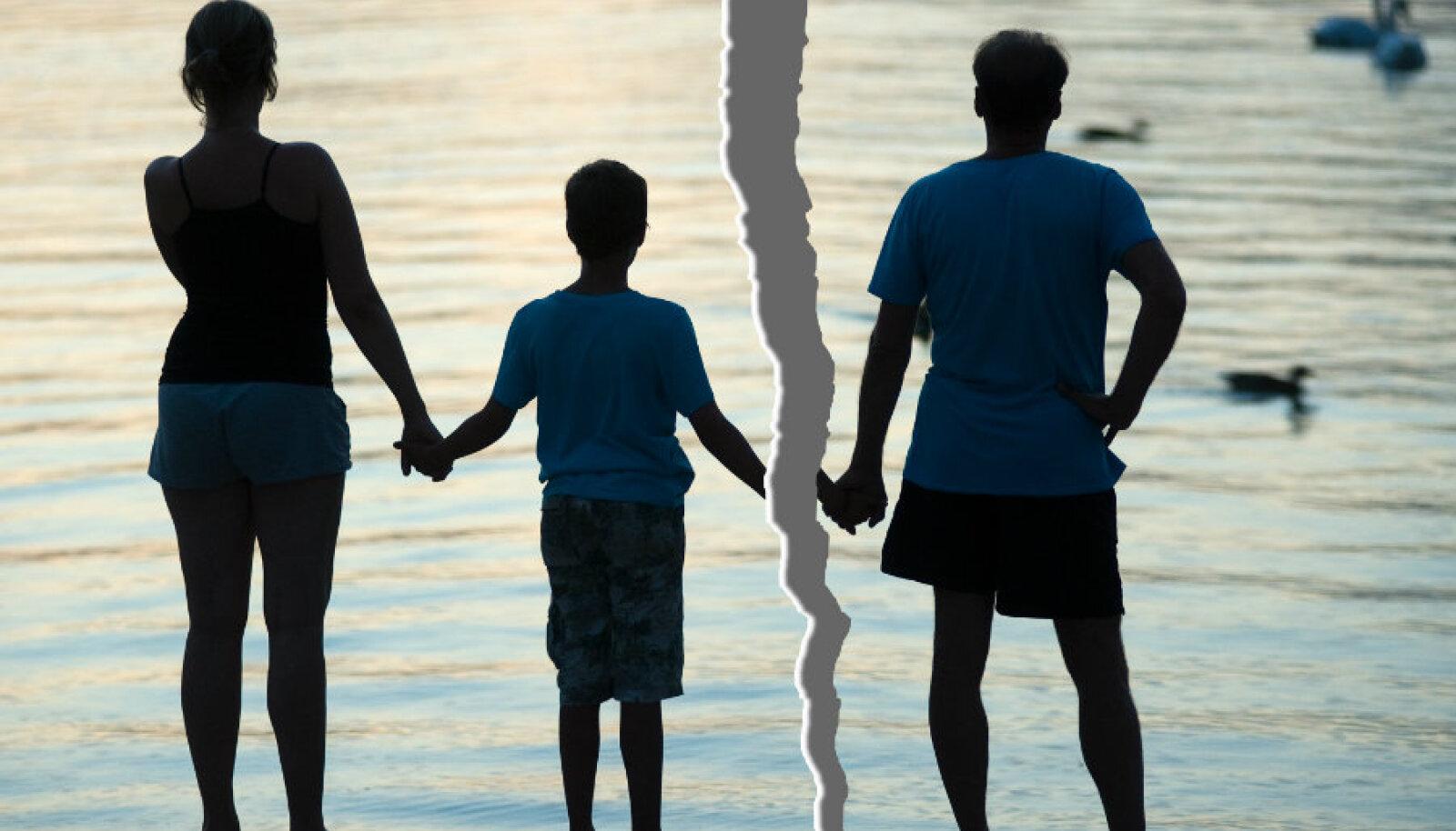 Ainus, mis omab tähtsust, on ema hinges olev lapse isa kuju.