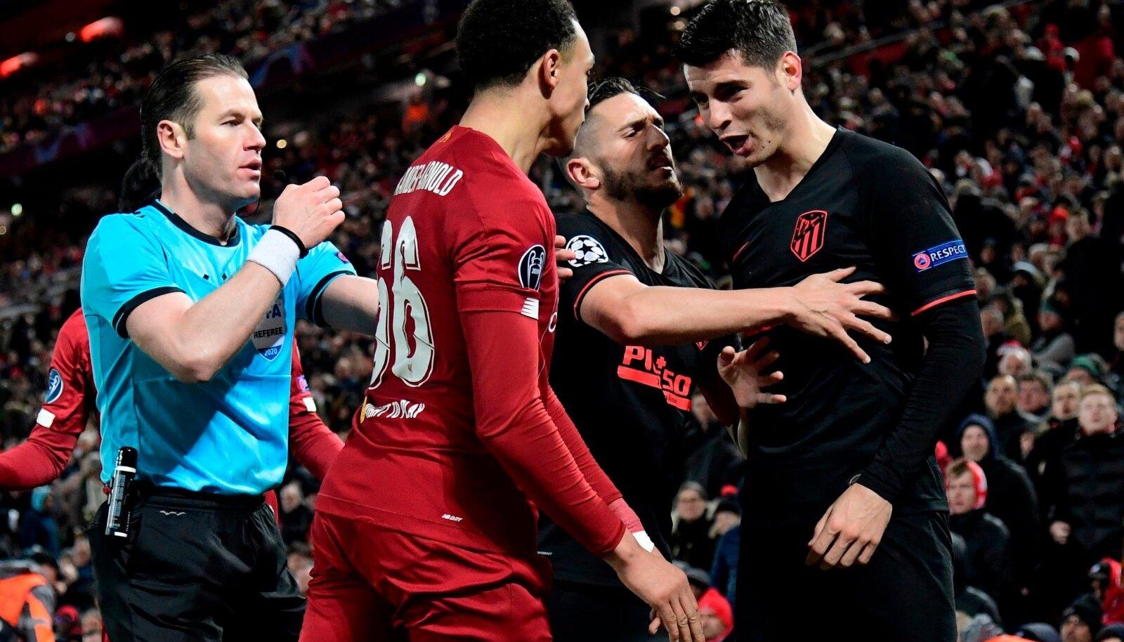 Liverpool vs Madridi Atletico.