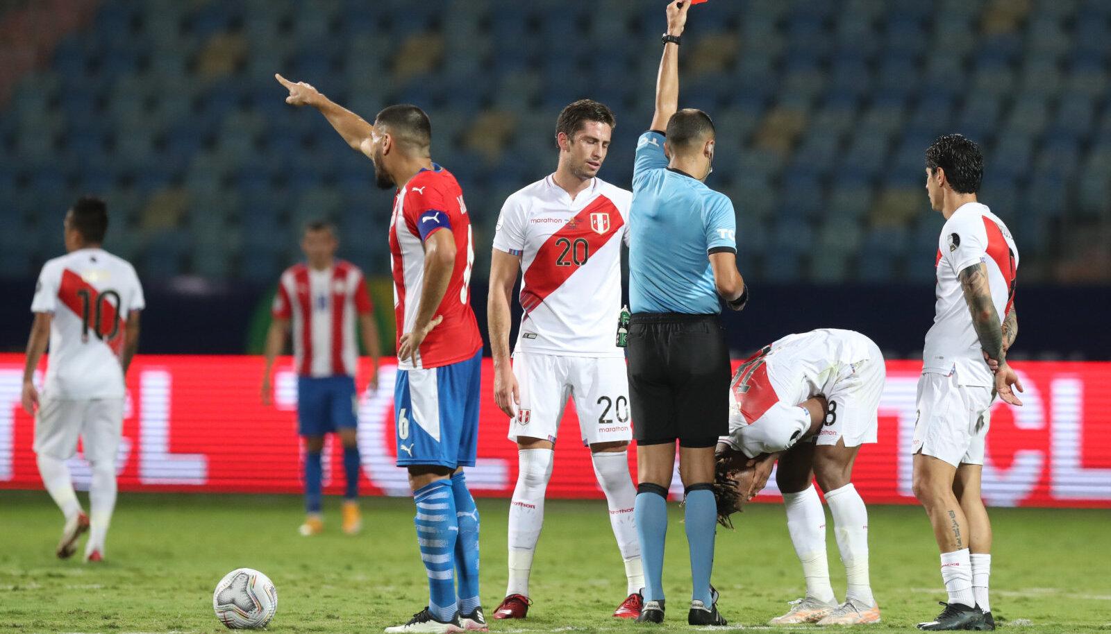 Peruu ja Paraguay kohtumisest kujunes tõeline põnevuslahing.