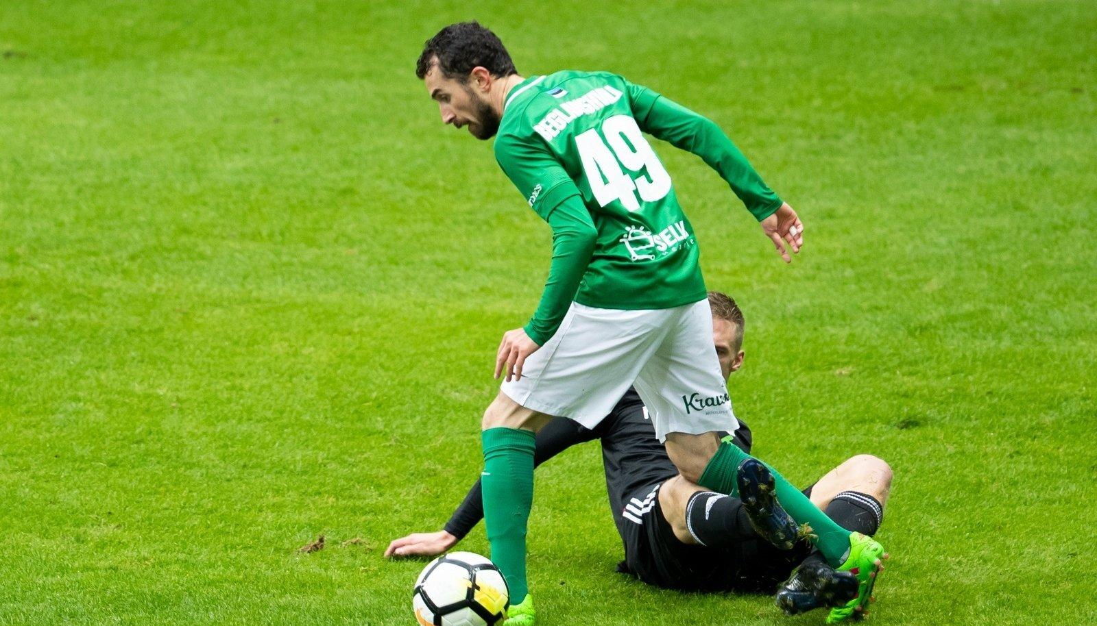 FC Flora ja Nõmme Kalju tegid jalgpalli Premium liiga 32. vooru mängus Lilleküla staadionil 2:2 viigi.