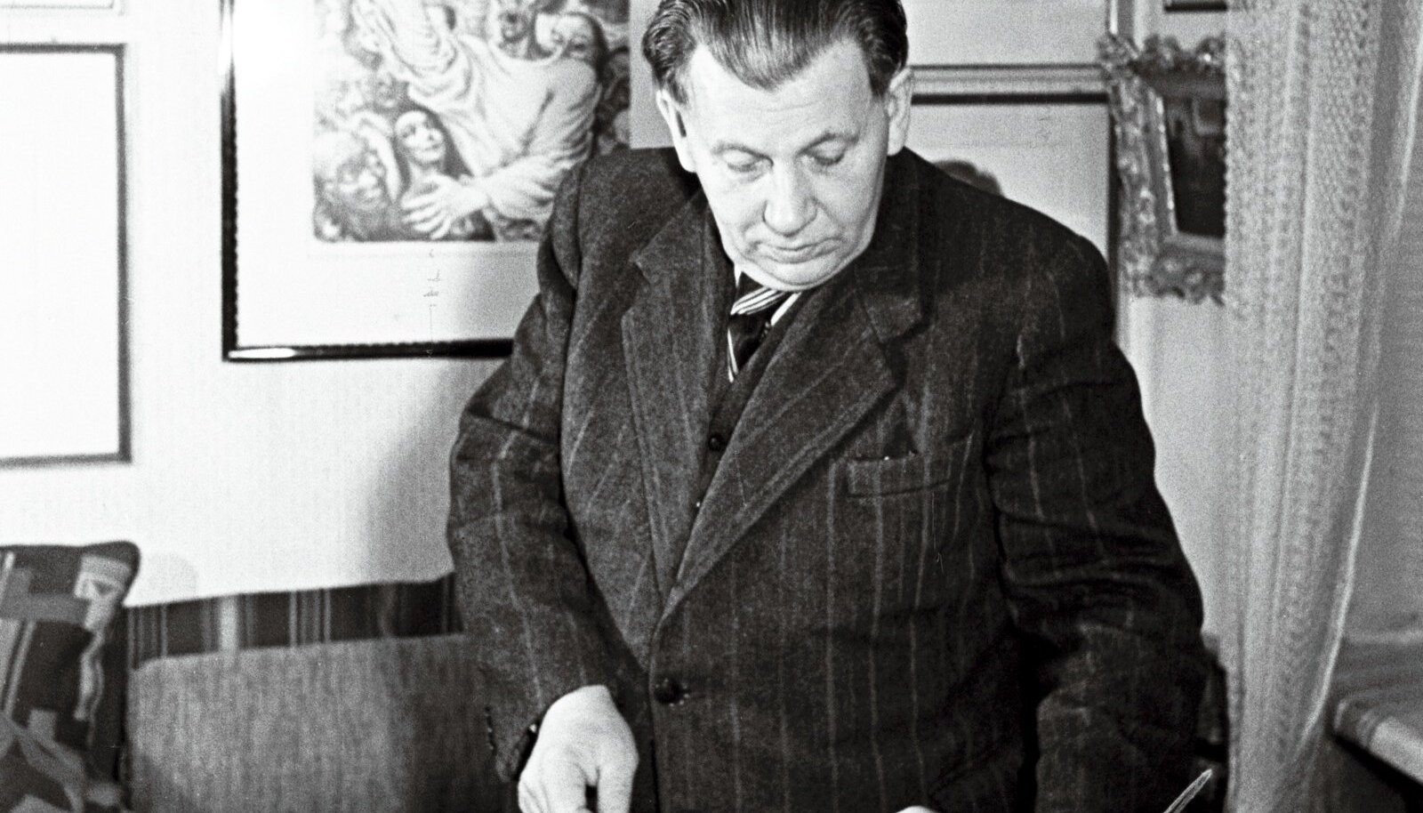 KUNSTIKOGUJA: Alfred Rõude elu armastuseks oli kunst.