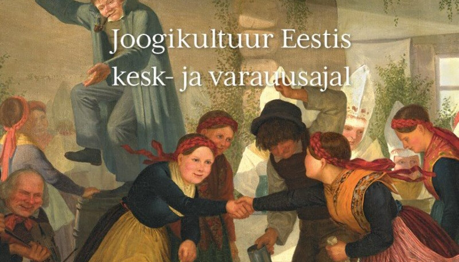 """Keskaja uurija Inna Põltsam-Jürjo raamat """"Viin, vein ja vesi. Joogikultuur Eestis kesk- ja varauusajal""""."""