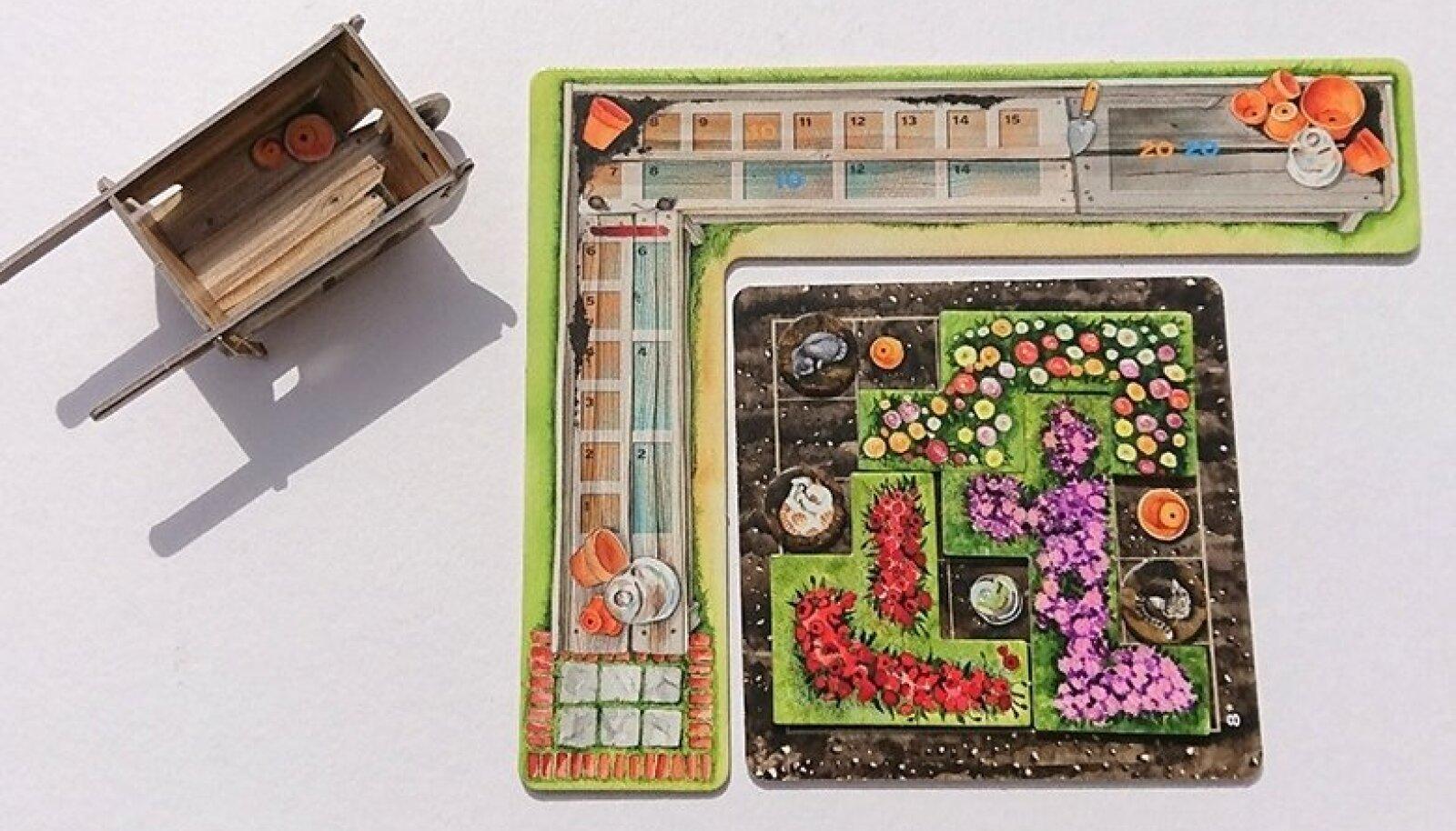 """SUVISED AIATÖÖD: """"Cottage Gardenis"""" tuleb lilleklumpidest kauneid peenraid moodustada ja ka kiisusid vahele pikkida."""