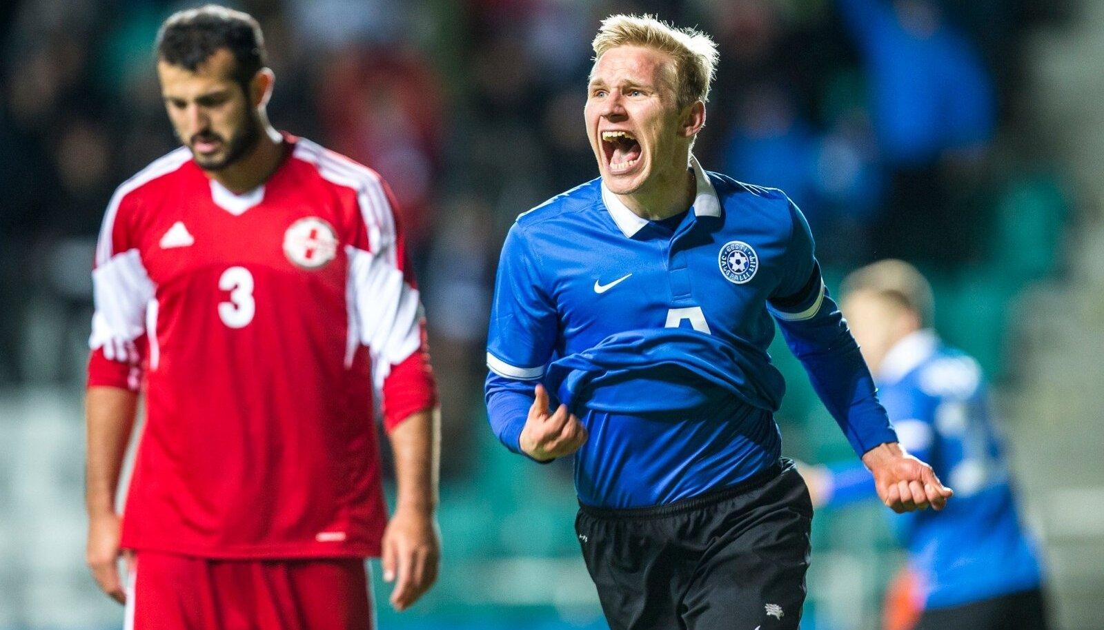 Eesti vs Gruusia mäng, Ats Purje