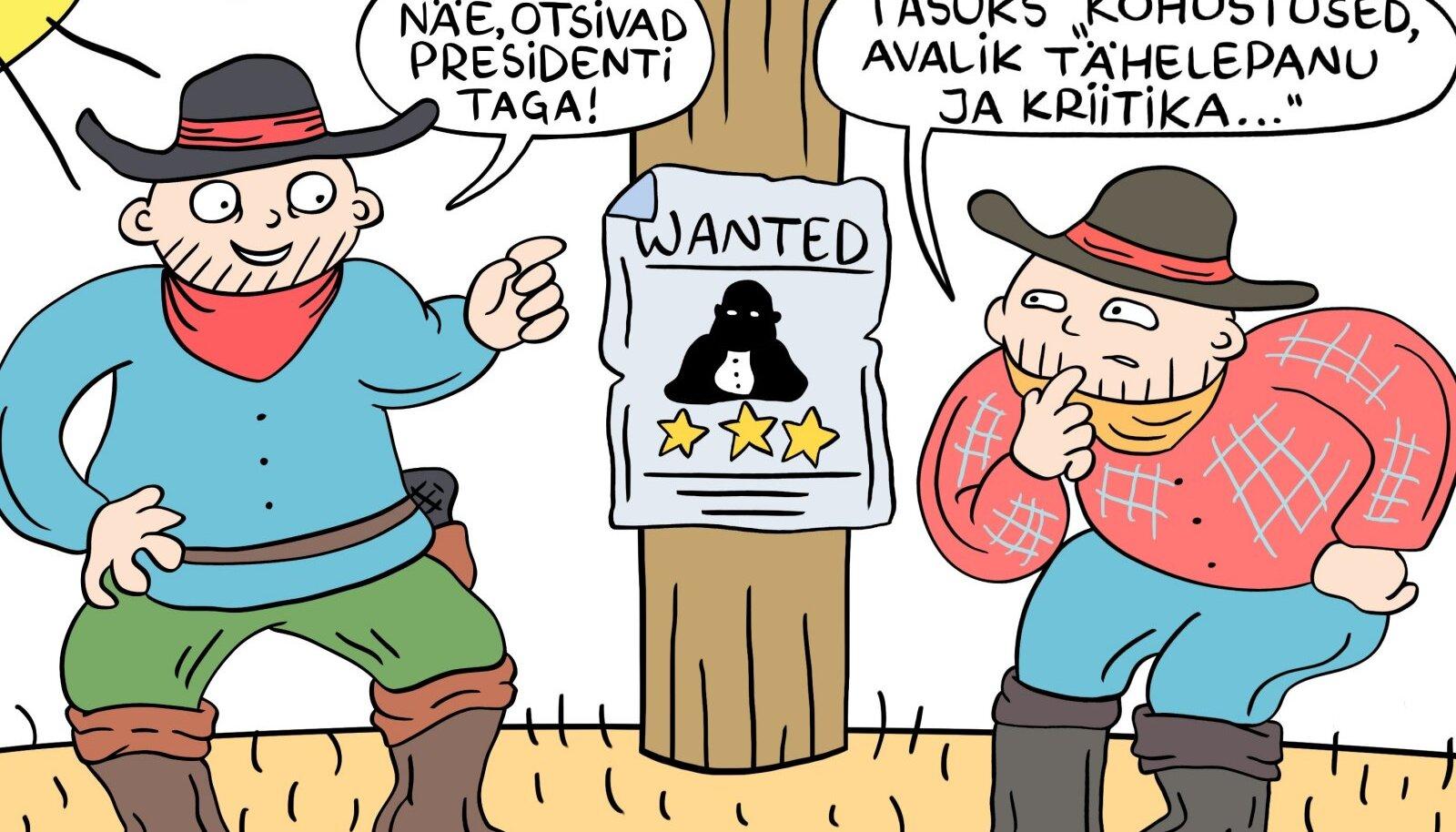 Wanted – Eesti president!