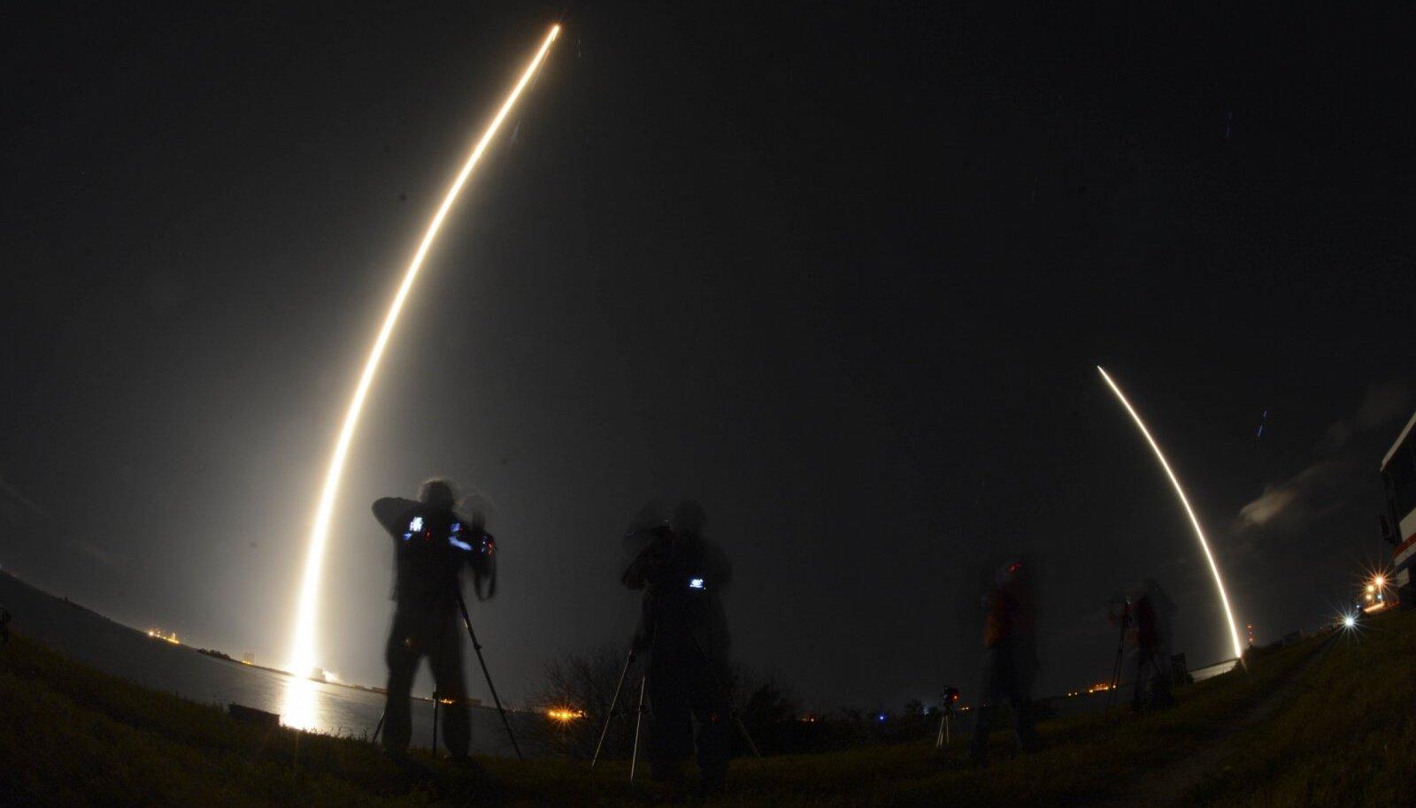 SpaceXi raketi start Canaverali neemelt 7. jaanuaril.