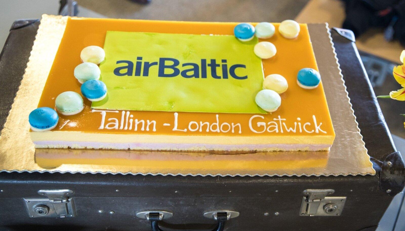 AirBaltic Tallinn - London liini avamine