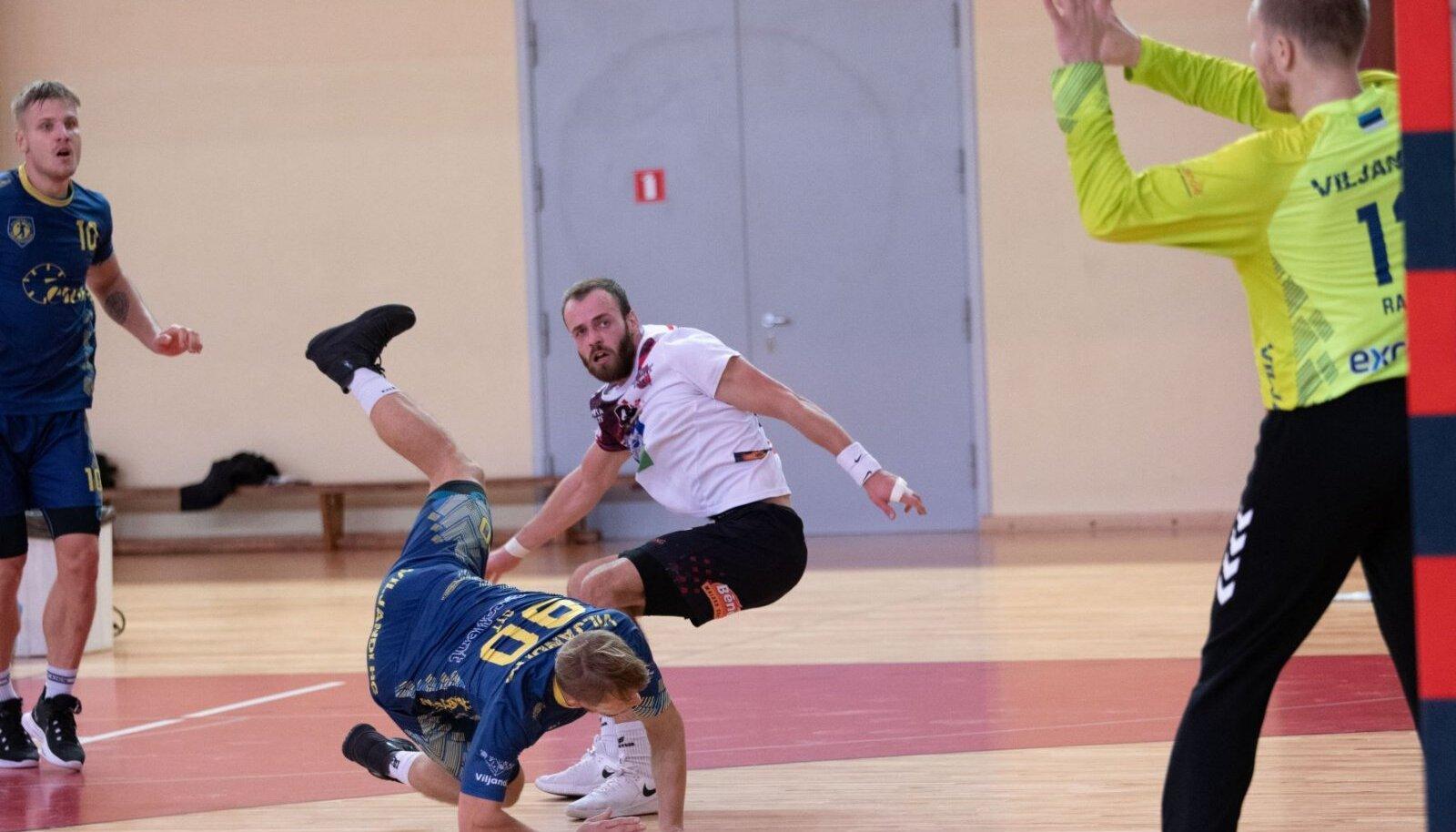 Viljandi HC ennastsalgav kaitse ja väravavaht Rasmus Ots osutusid ületamatuks nii Balti liiga tiitlikaitsjale eile kui ka Läti meistrile täna.