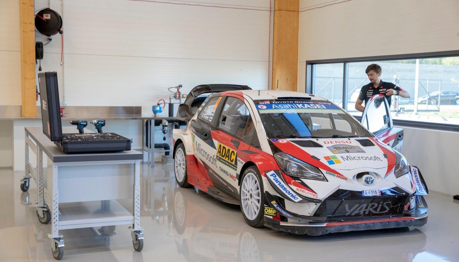Toyota Gazoo Racing Peetri külas