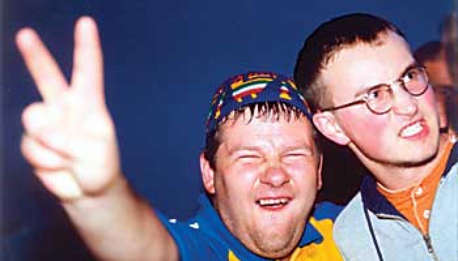 DISKOÄSSAD: Kuulsaim raadiohääl Alari Kivisaar (vasakul) ja Jan Mägi. René Velli