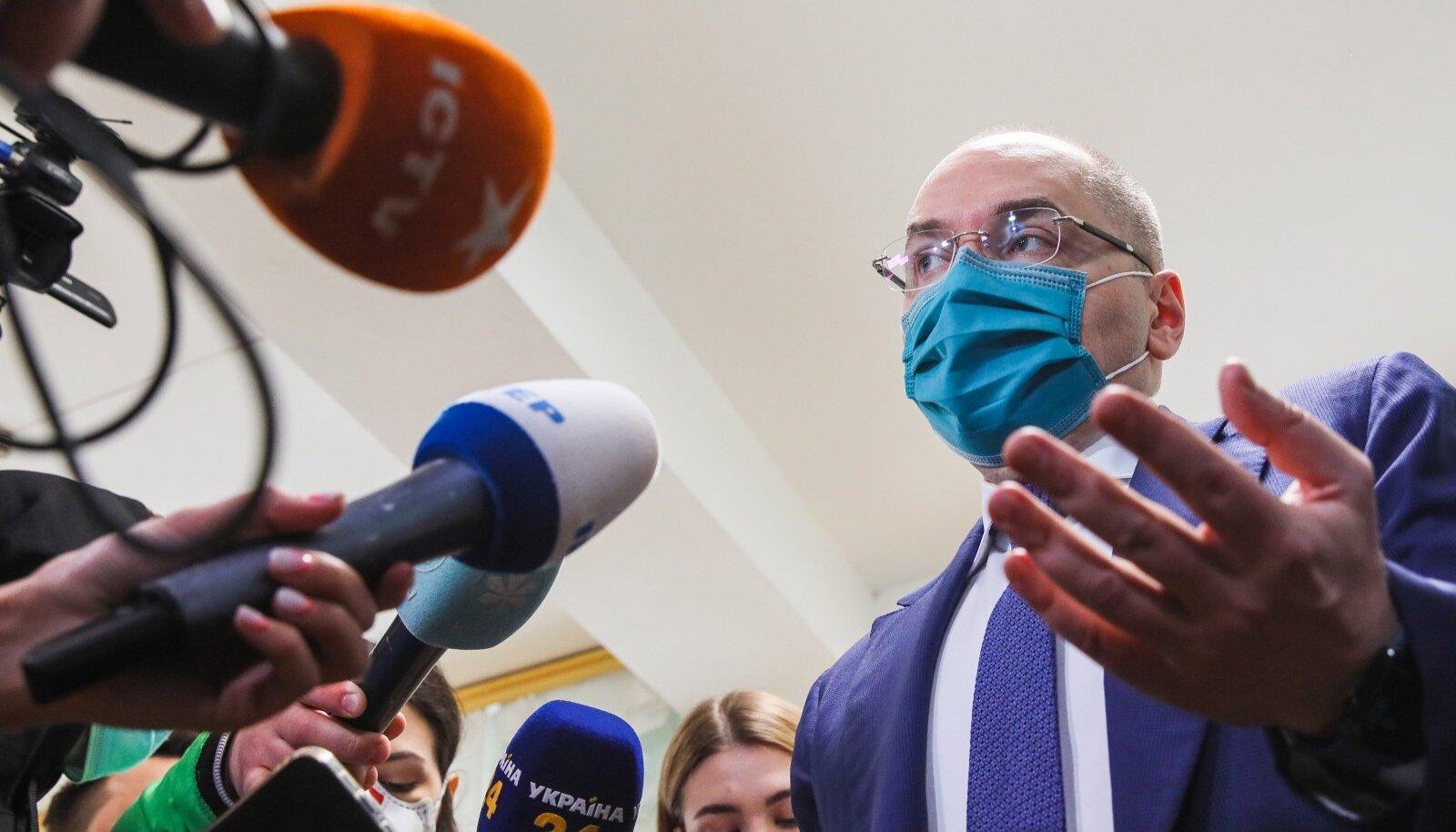 Ukraina tervishoiuminister Maksim Stepanov