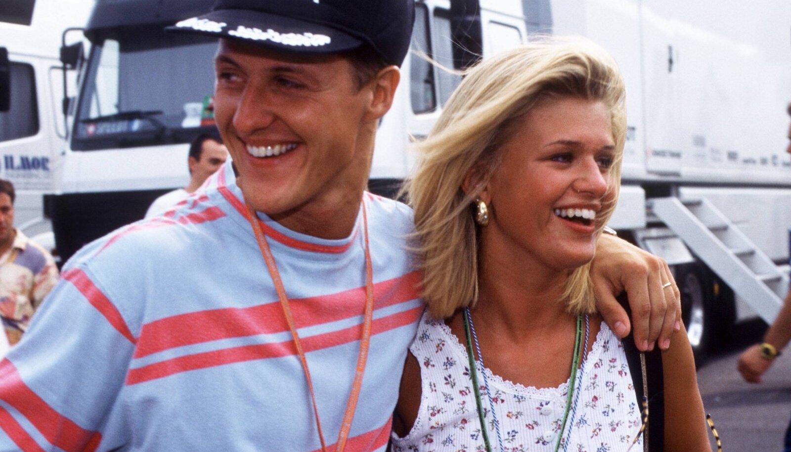 Michael Schumacher abikaasa Corinnaga