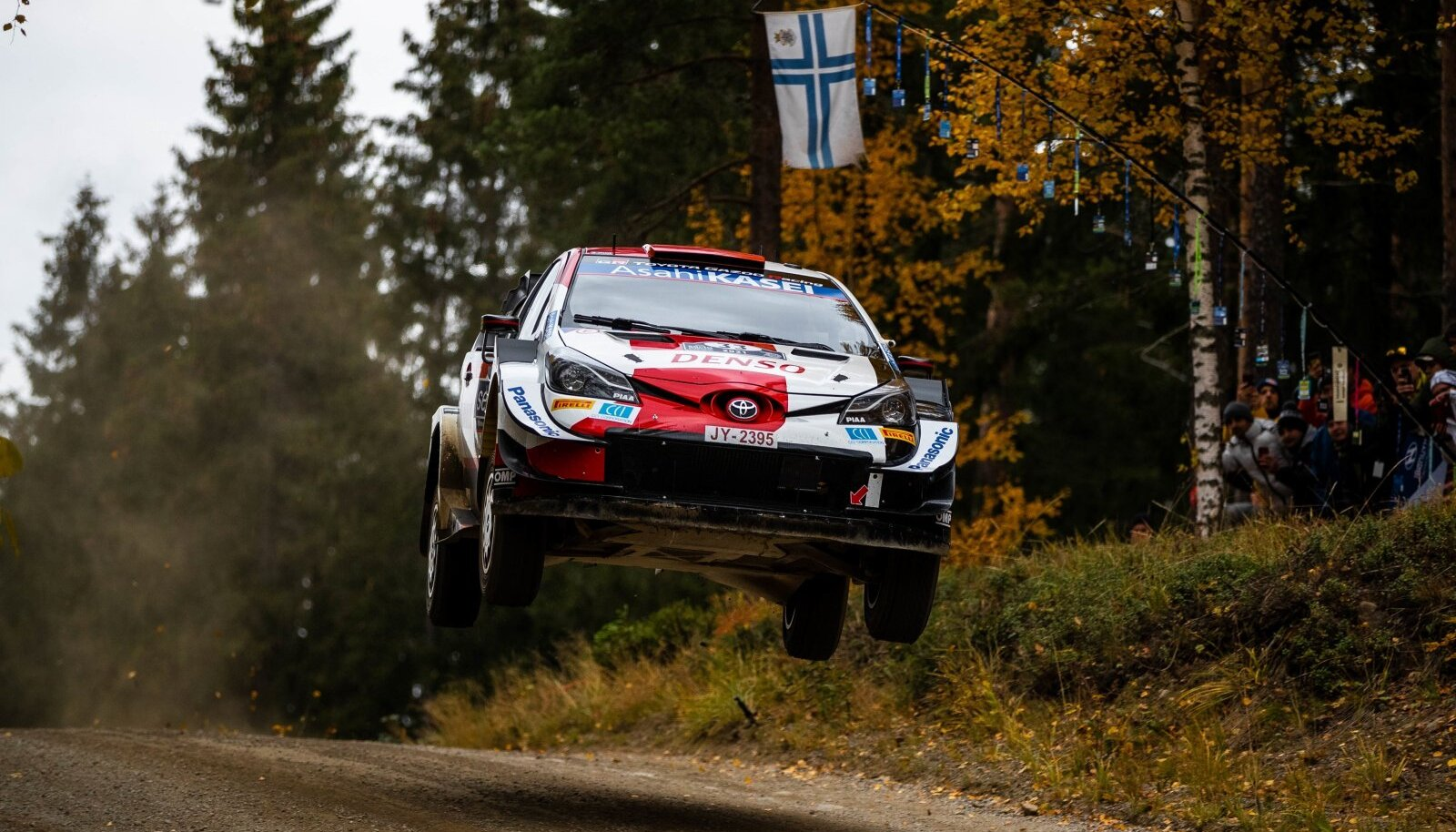 Elfyn Evansi sõidus oli lennukust ja see aitas ta Soome ralli võidule.