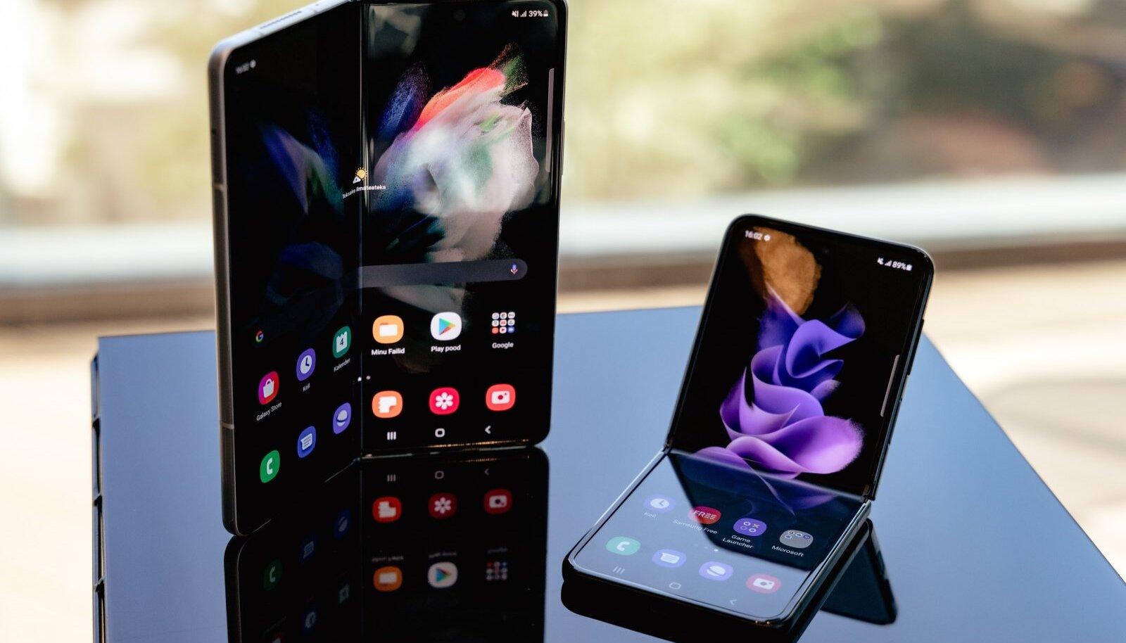 Galaxy Z Fold3 ja Galaxy Z Flip3