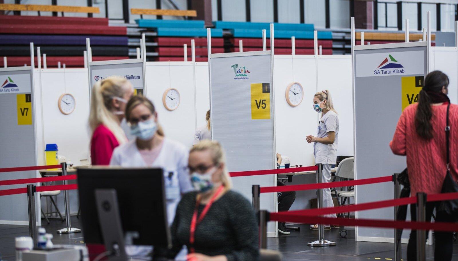 Tartu vaktsineerimiskeskus