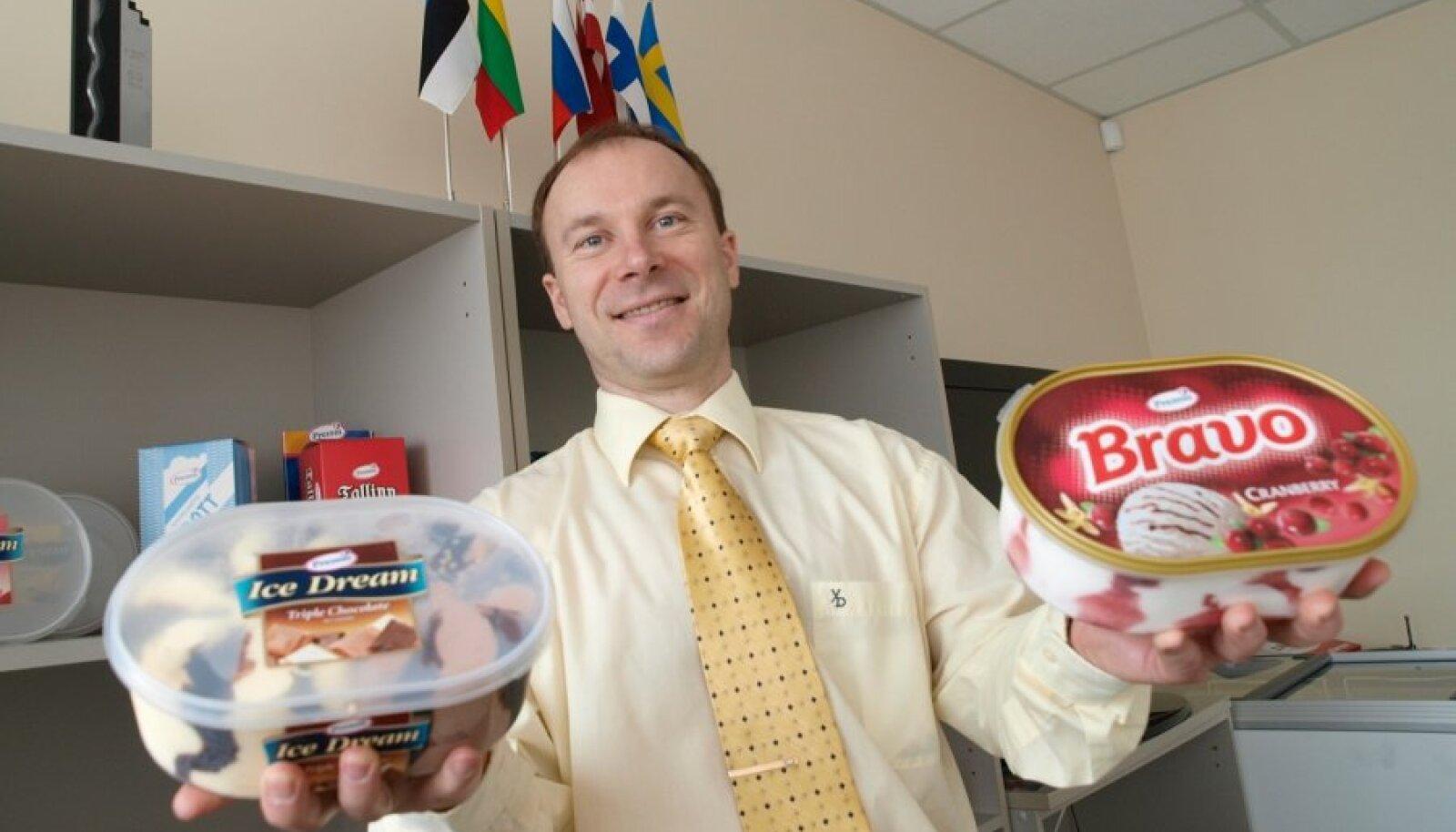 Premia Foods AS nõukogu esimees  KULDAR LEIS