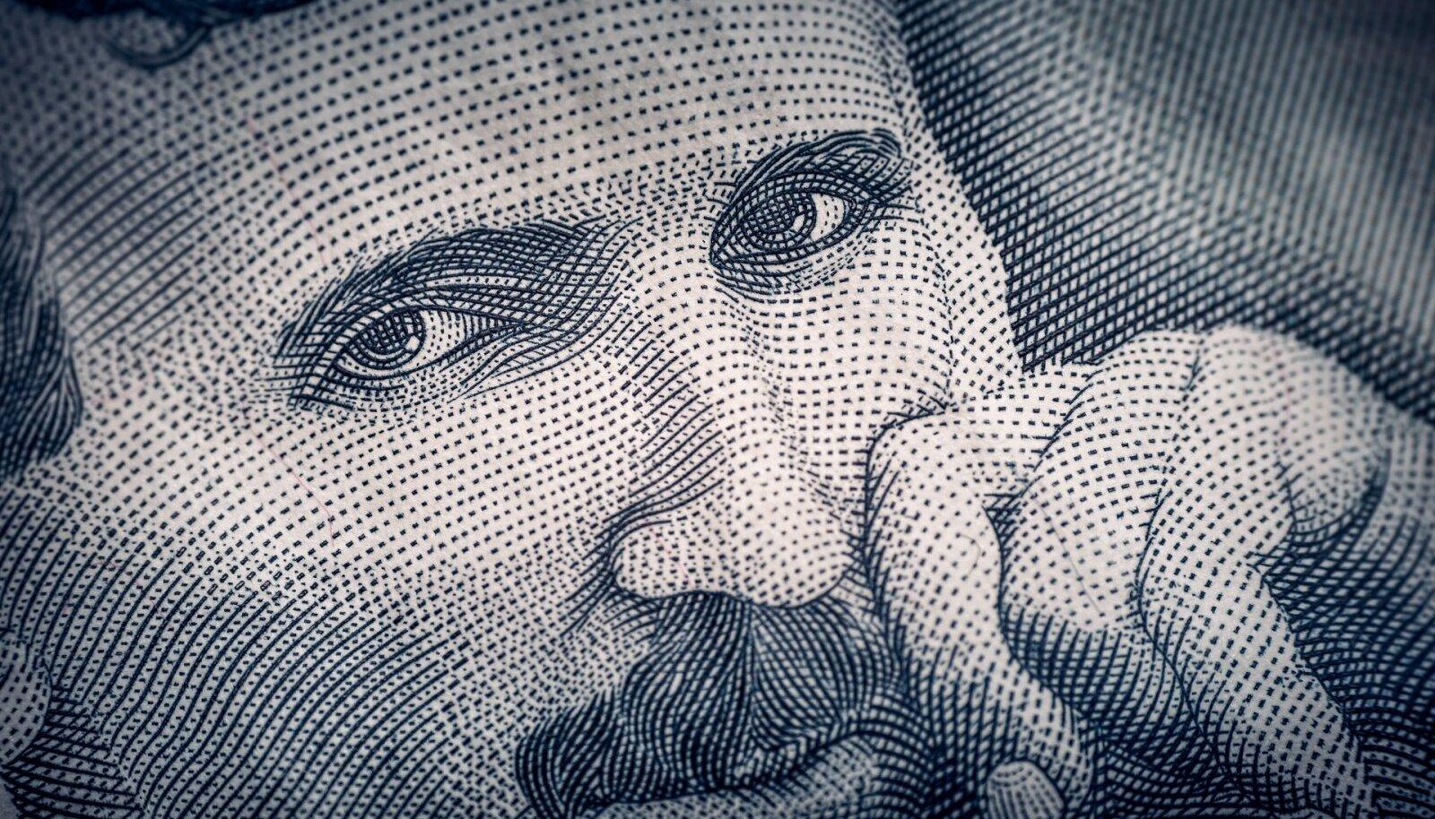 Serbia 100-dinaarisel on Nikolai Tesla
