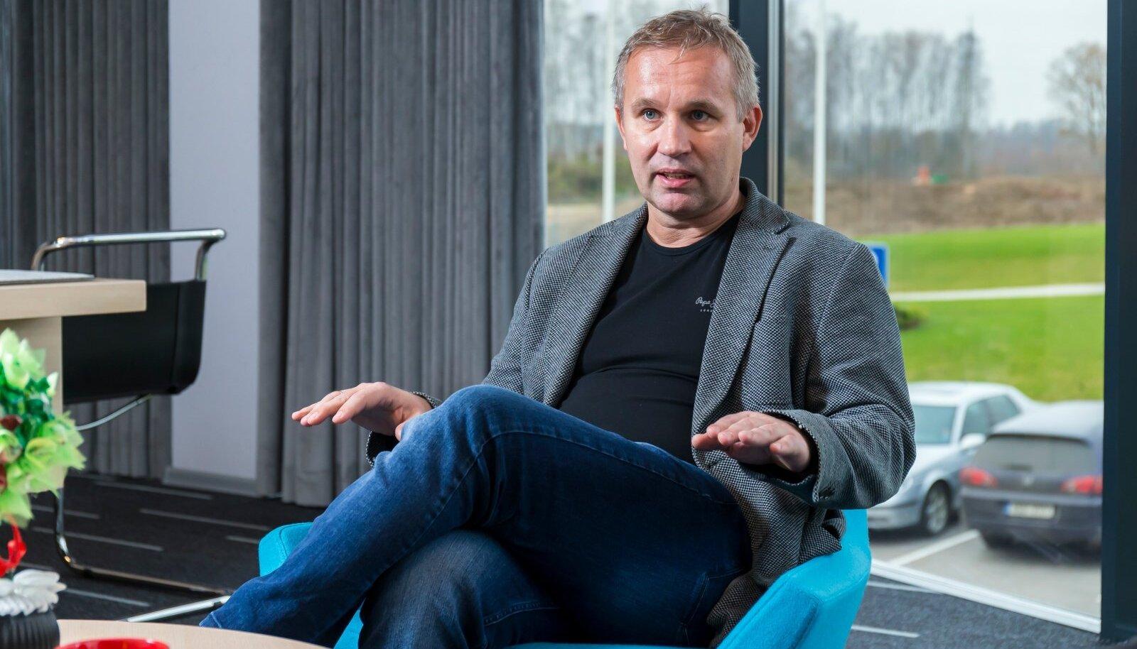 Cleveroni asutaja ja juht Arno Kütt