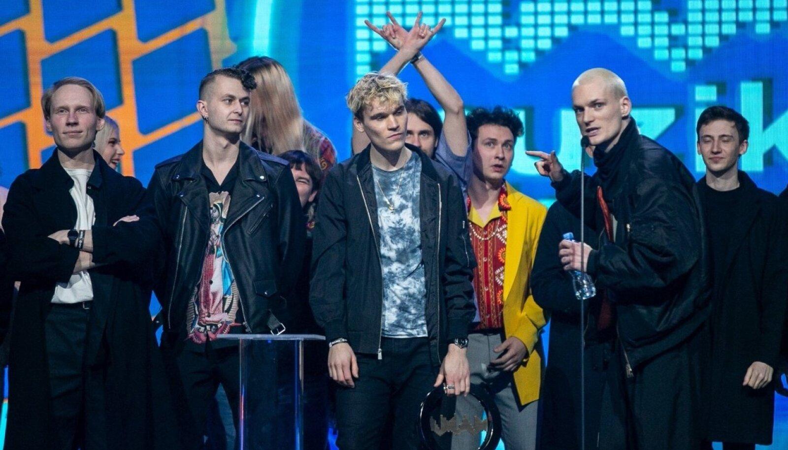 Leedu muusikaauhinnad