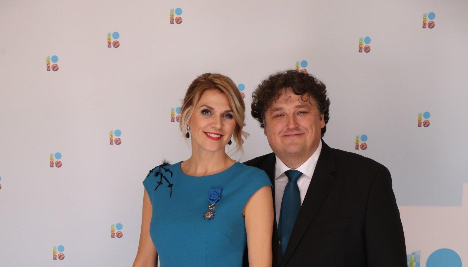 Urve Palo ja Janek Palo, 2018