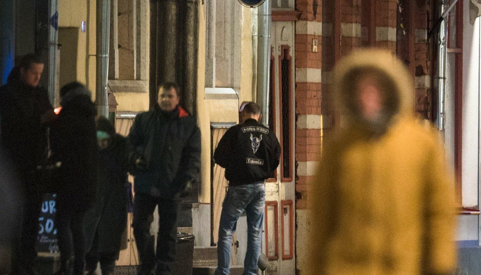 Odini sõdurite kogunemine Tallinna vanalinnas