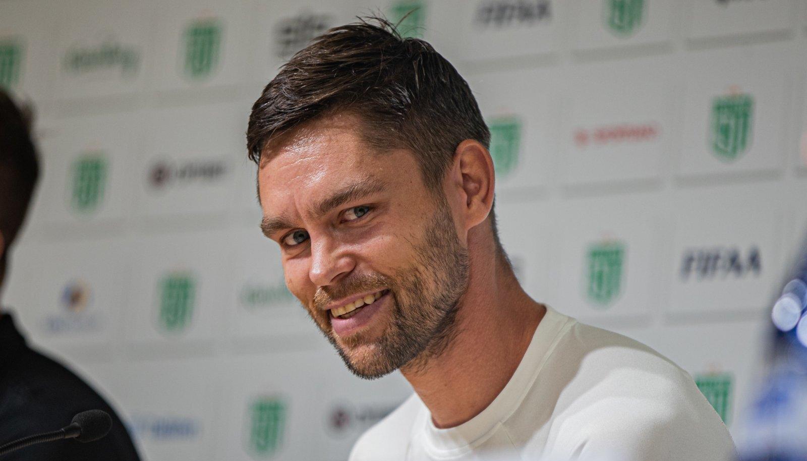 FC Flora peatreener Jürgen Henn läheb tähtsale kohtumisele vastu enesekindlalt.