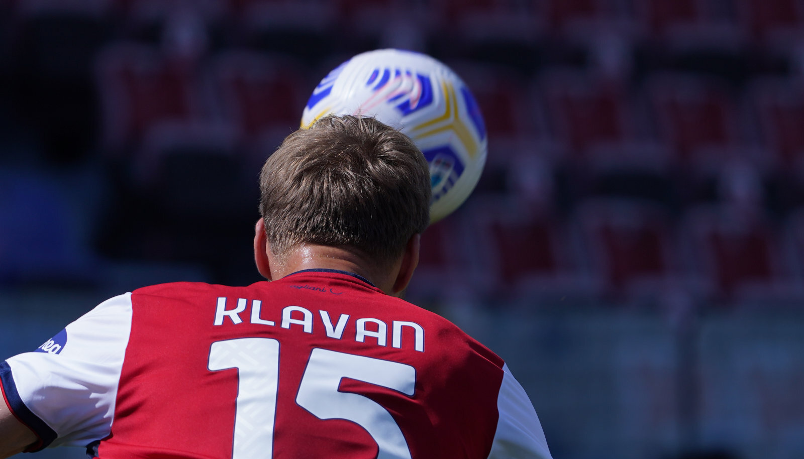 Ragnar Klavan mängus Verona vastu.