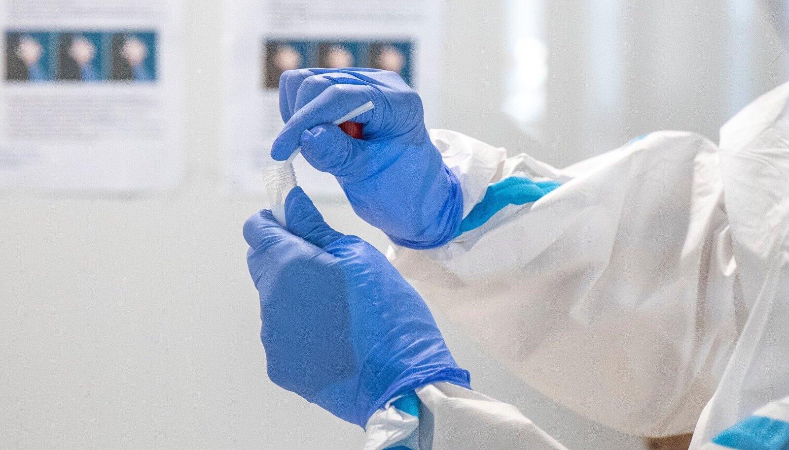 Koroonaviiruse testi tegemine