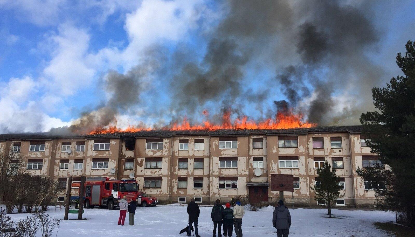 Tulekahju Järvamaal