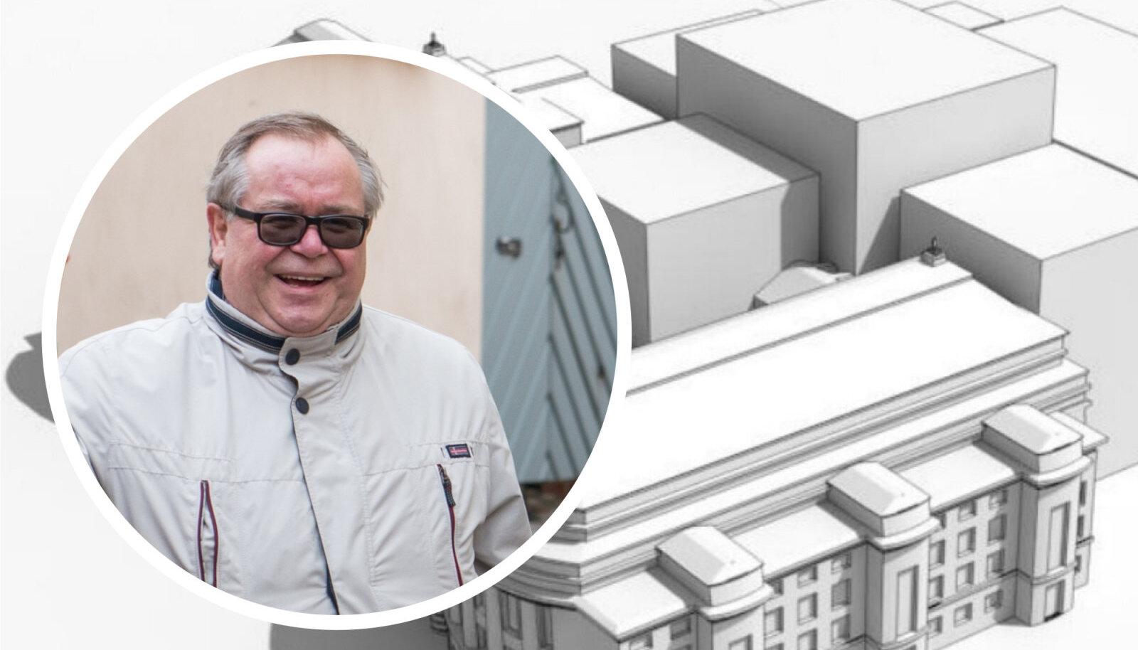 Aadu Must ütleb, et Estonia jääb tähtsate ehitiste nimekirja