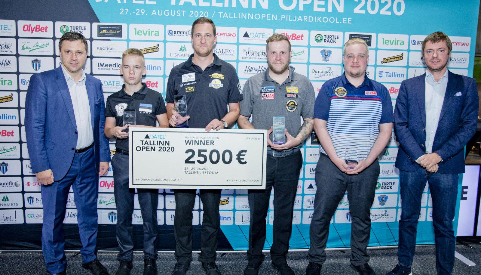 Fotol vasakult: Belobrovtsev, Kont, Grabe, Siekkinen, Makkonen, Kuusik