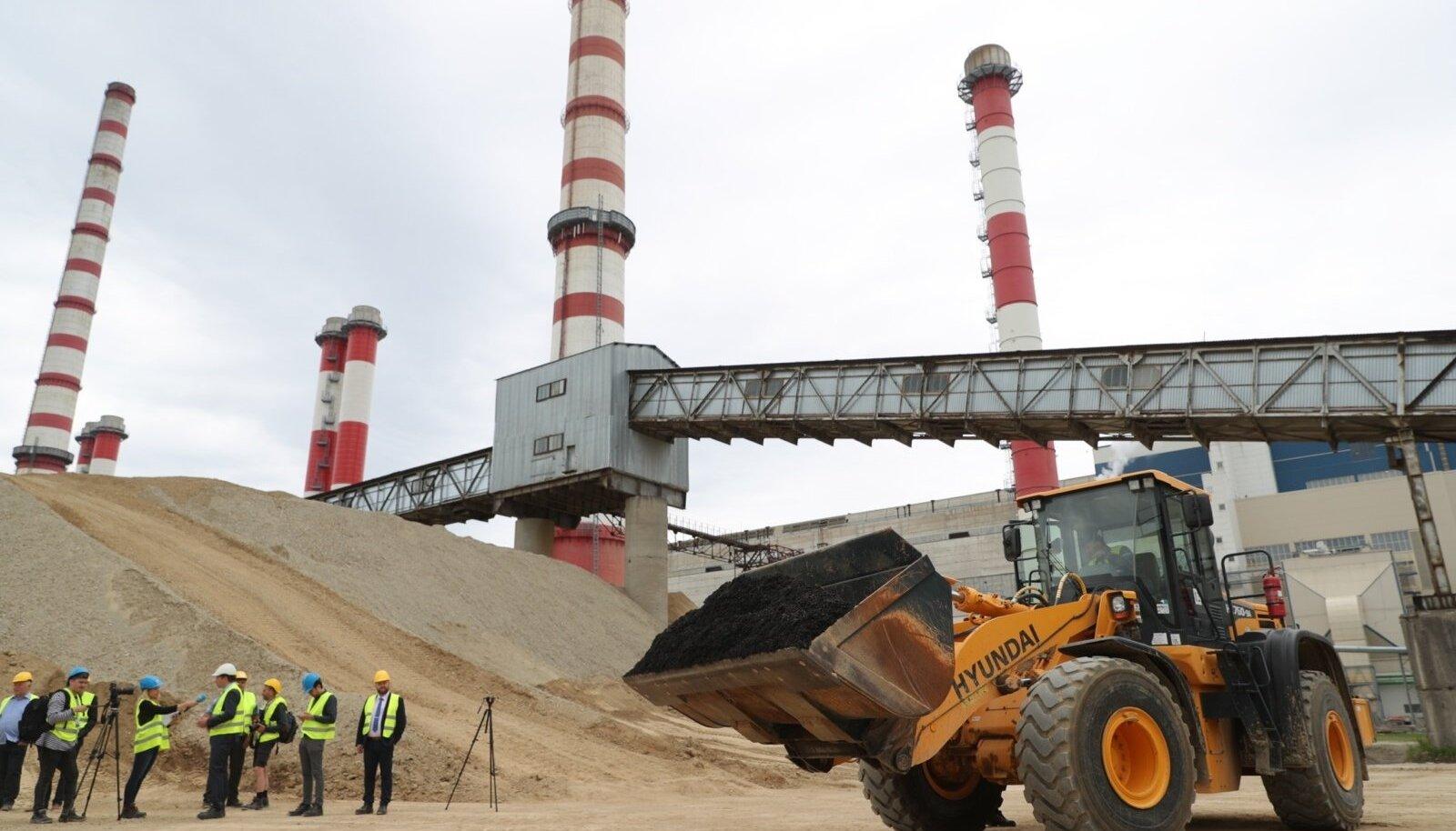 Eesti Energia kompleks Auveres