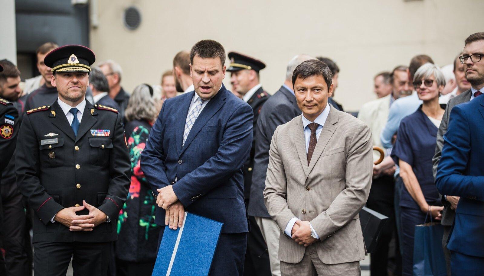 Jüri Ratas ja Mihhail Kõlvart. Foto illustreeriv