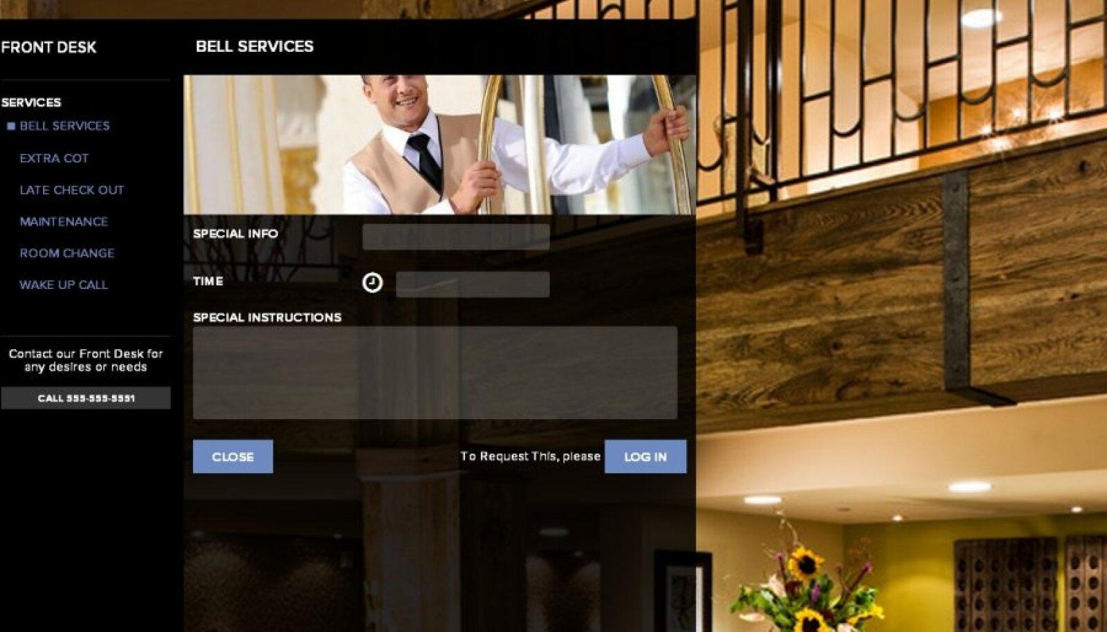 Uue ALICE´i hotelliteeninduse äppiga võib uksehoidjat näha vaid veebist.
