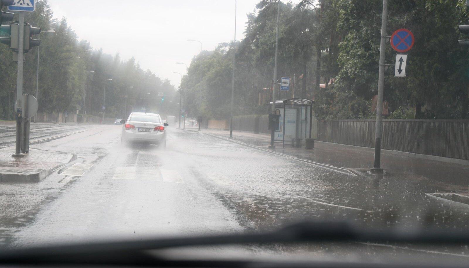 Vihmane ilm