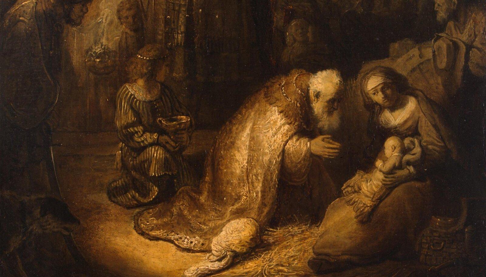 Rembrandti maal.