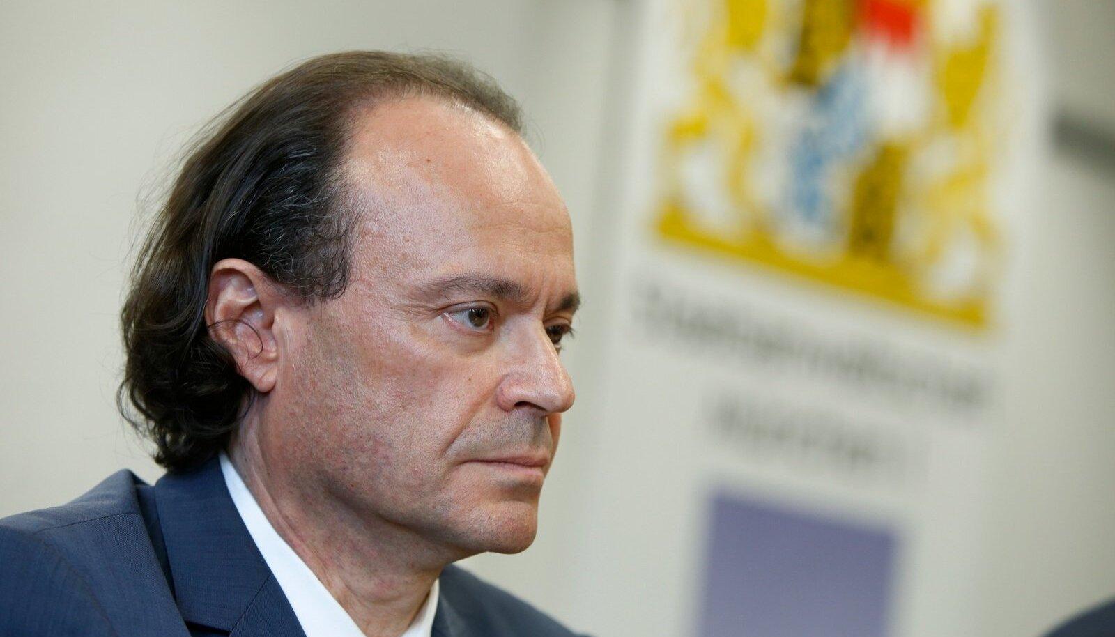 Baierimaa föderaalprokurör Kai Graeber selgitas dopinguasja tagamaid.