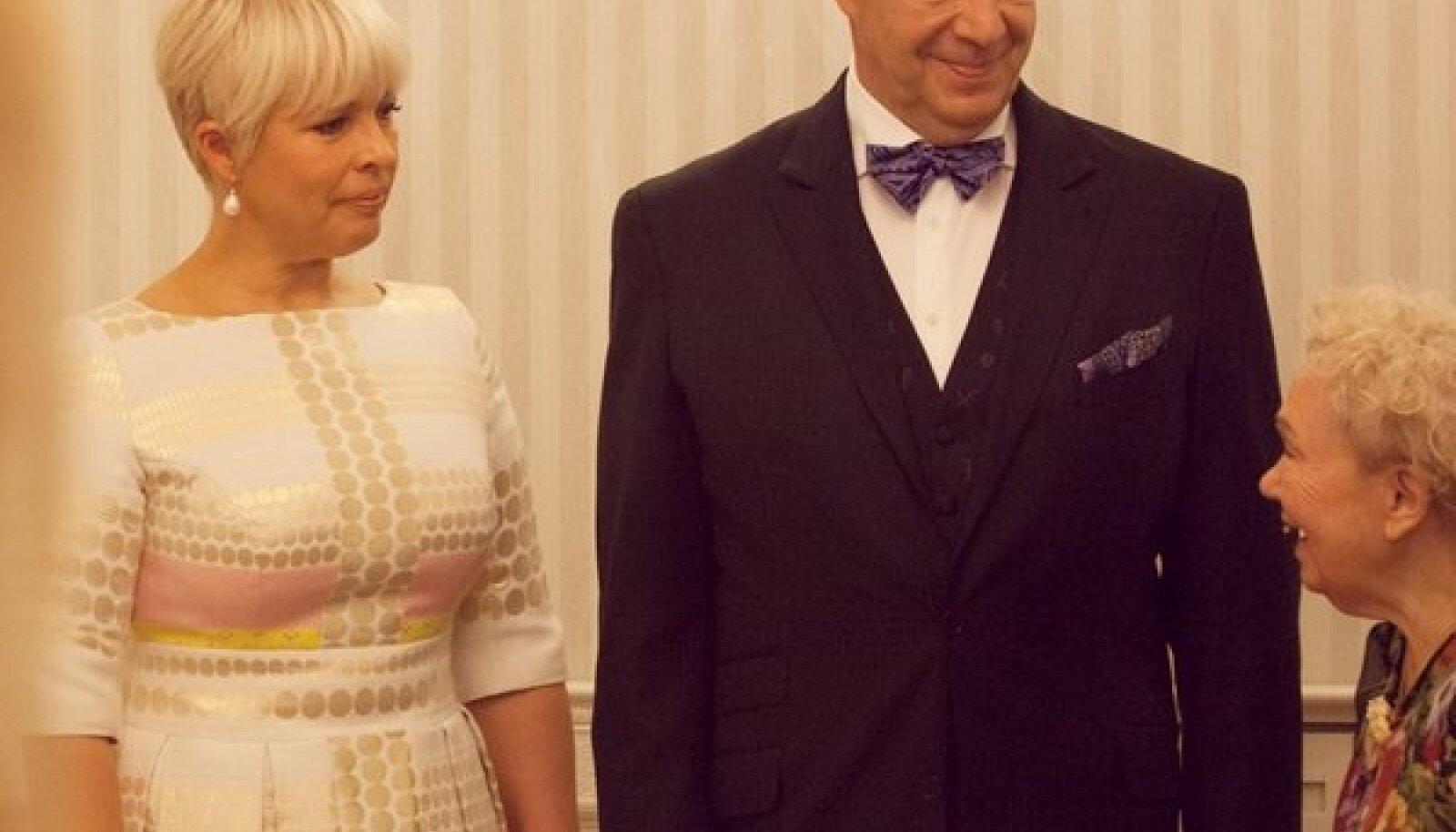 President Ilves New Yorgis