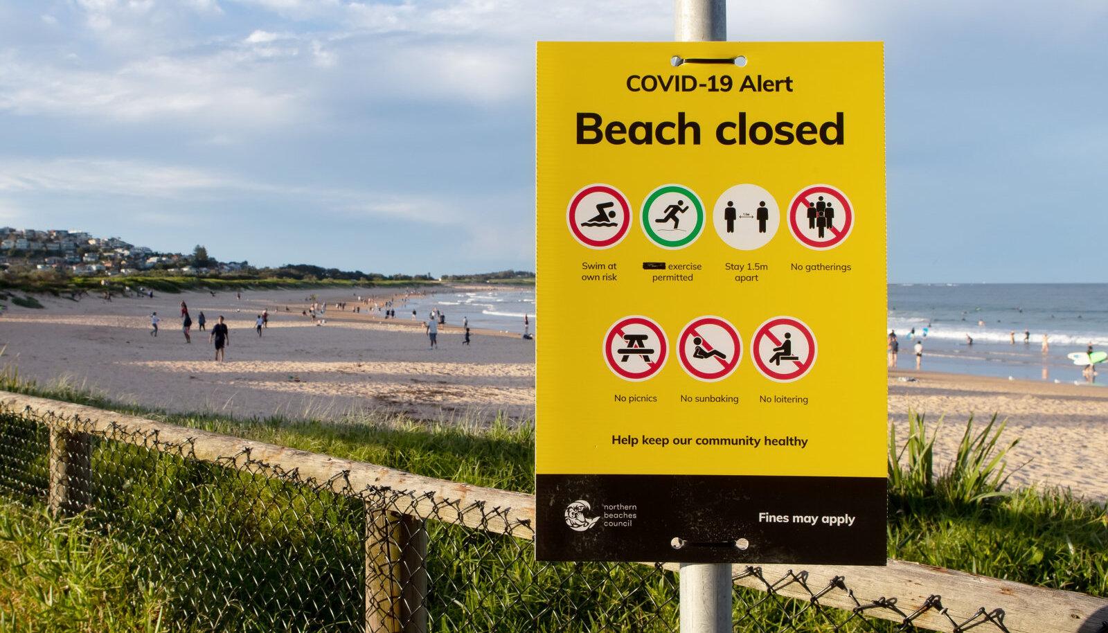 Sydney Dee Why suletud rand