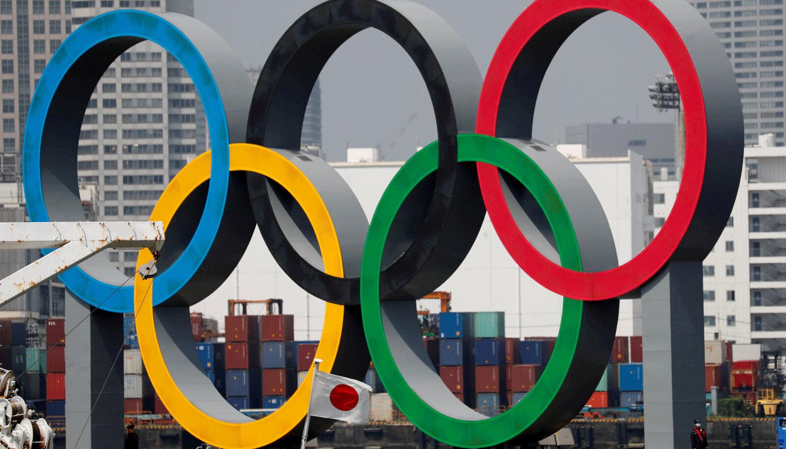 Olümpiarõngad.