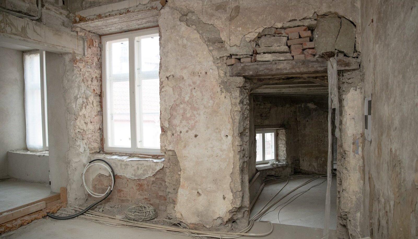 Muinsuskaitsealuse hoone renoveerimine usaldage asjatundjate kätte.