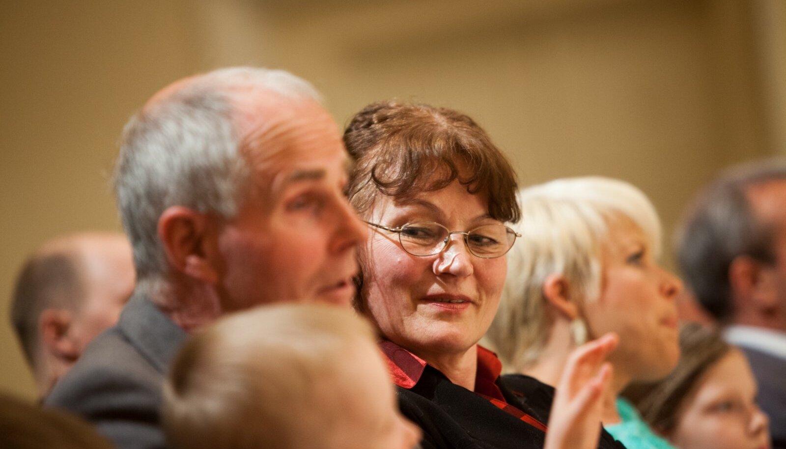 KUI VEEL TUNDUS, ET ON HÄSTI: Malle Kobin aastal 2013 Estonia Aasta ema tseremoonial.