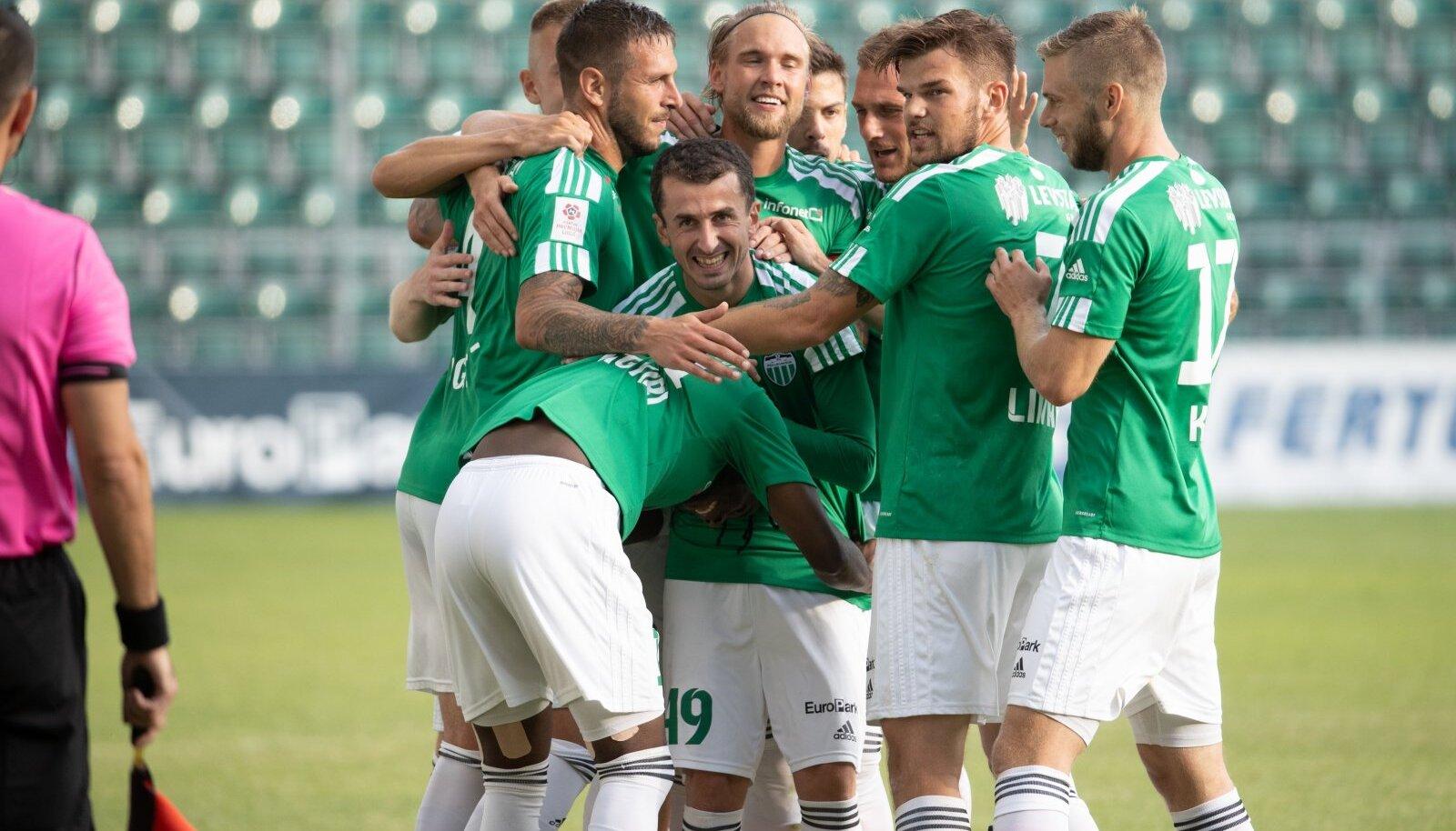 FC Levadia jalgpallurid