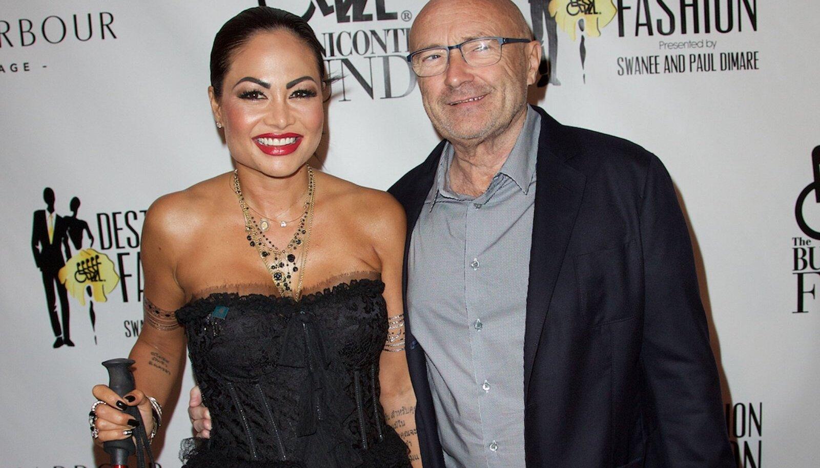 SAATUSLIK NAINE Phil maksis Oriannele lahutuse käigus kümneid miljoneid eurosid. Aastaid hiljem kolis naine Phili juurde tagasi, kuid tüdines peagi kooselust. Samas ei soovinud ta Collinsi villast lahkuda ja küsis täiendavad 20 miljonit eurot.