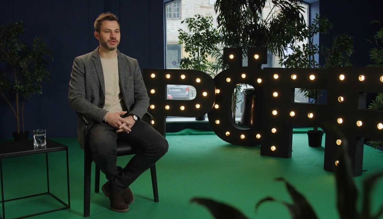 """PÖFF TV stuudios: filmi """"Olümpose modell"""" režissöör Frédéric Hambalek"""